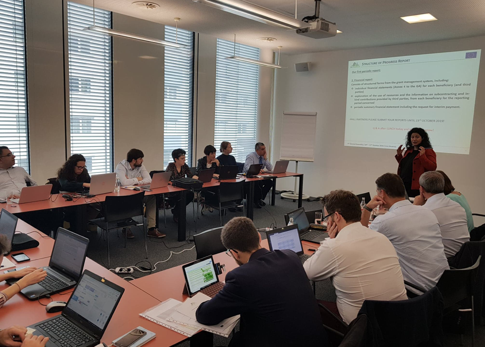 Fourth consortium meeting in Linz